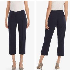 MM Lafleur navy cropped pants sz 2